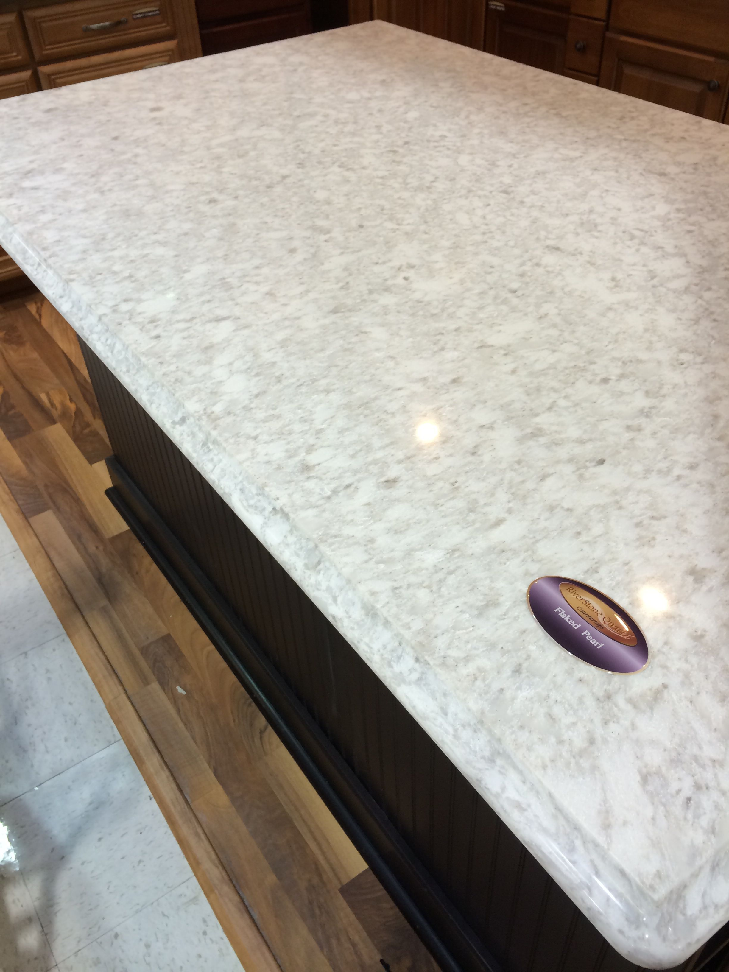 RiverStone Quartz   Flaked Pearl  (Menards) Want For Kitchen Counters