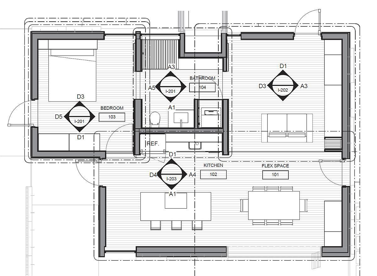SHADE, an 851 sq ft 1 bedroom entry at Solar Decathlon 2013 | www ...
