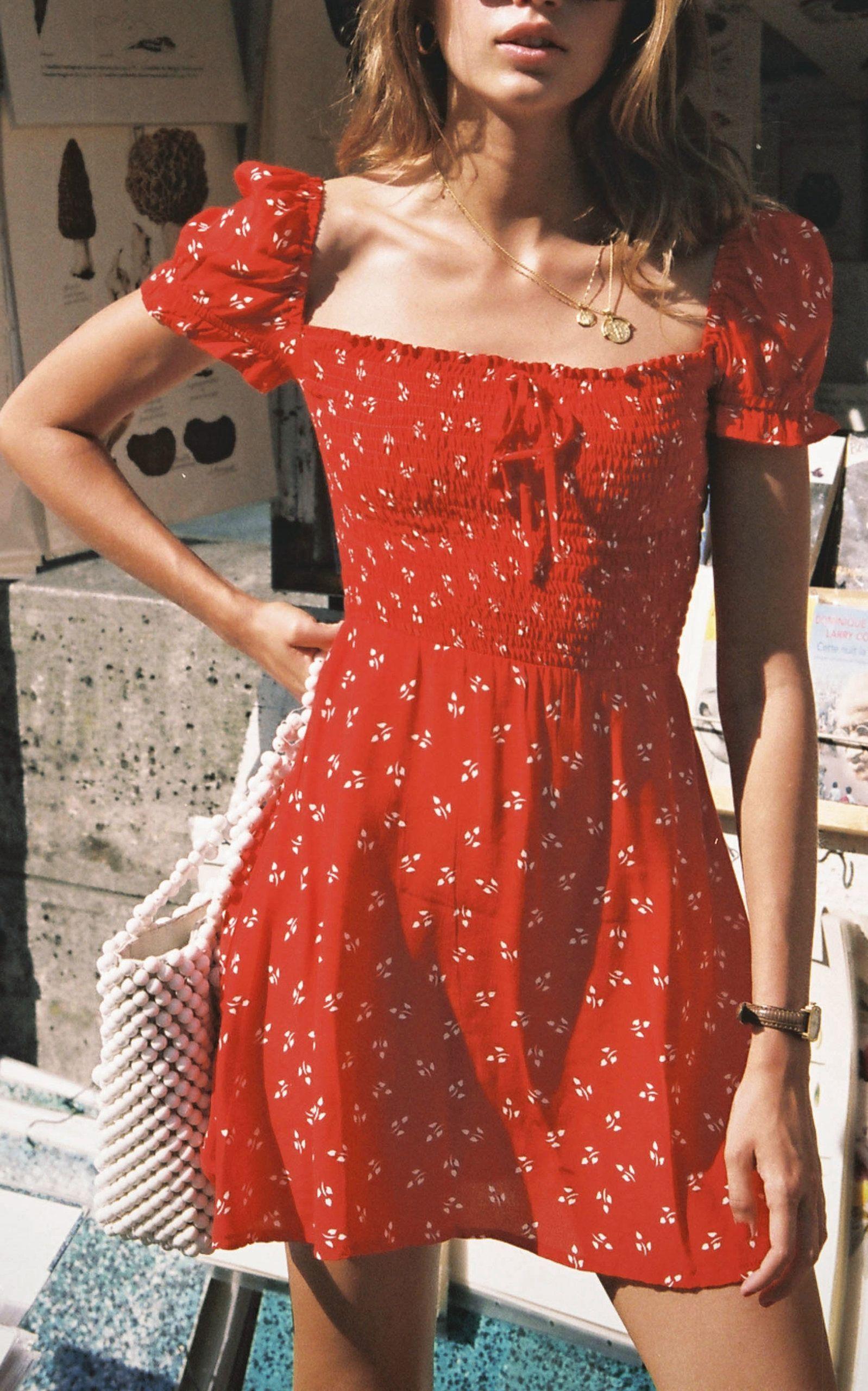 summer aesthetic dress