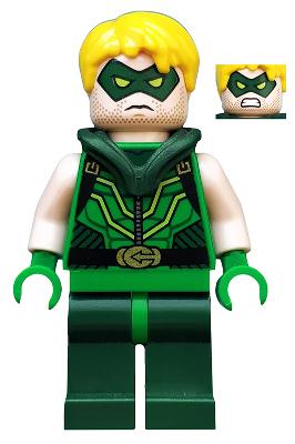 Lego Dc Comics 76028 Green Arrow Minifigure Lego Supergirl Lego Dc Lego Batman