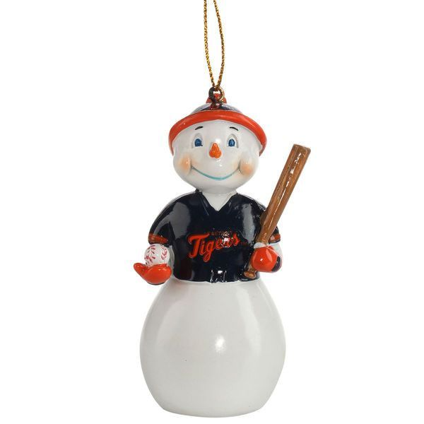 Detroit Tigers Jack Frost Snowman Ornament