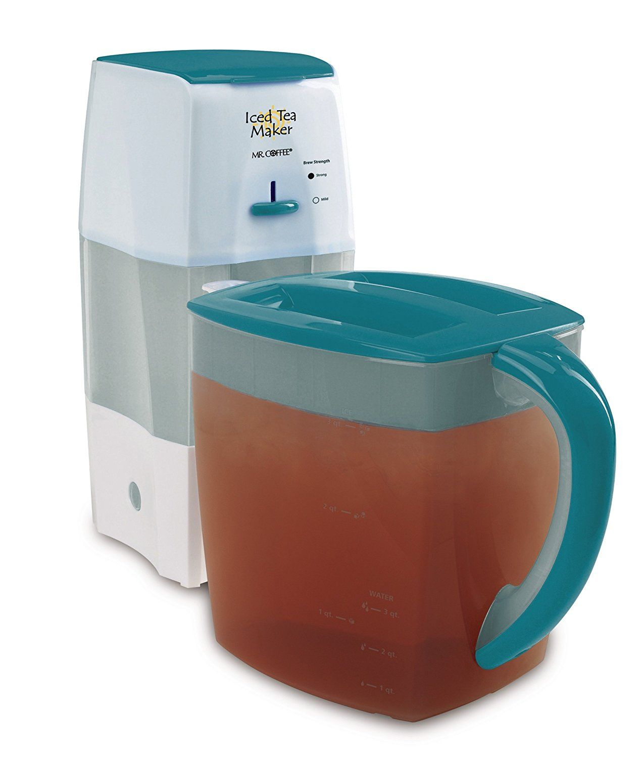 Mr. Coffee TM75TS Fresh Tea Iced Tea Maker, Teal * This is