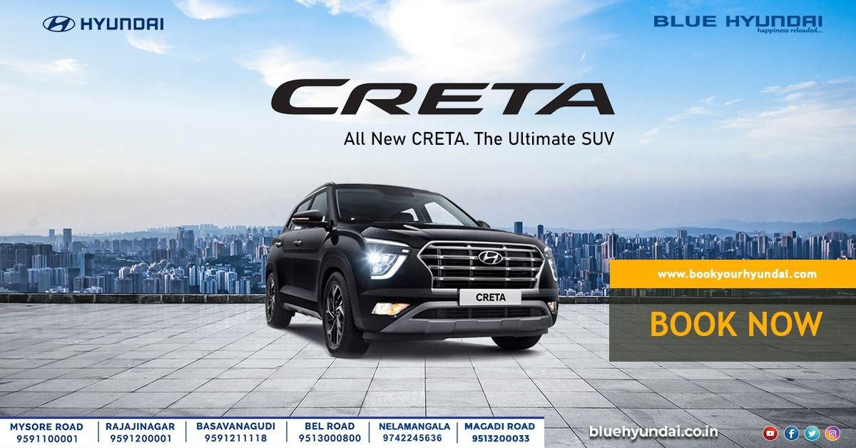 Hyunda Creta 2020 In 2020 Hyundai Suv Smart Technologies