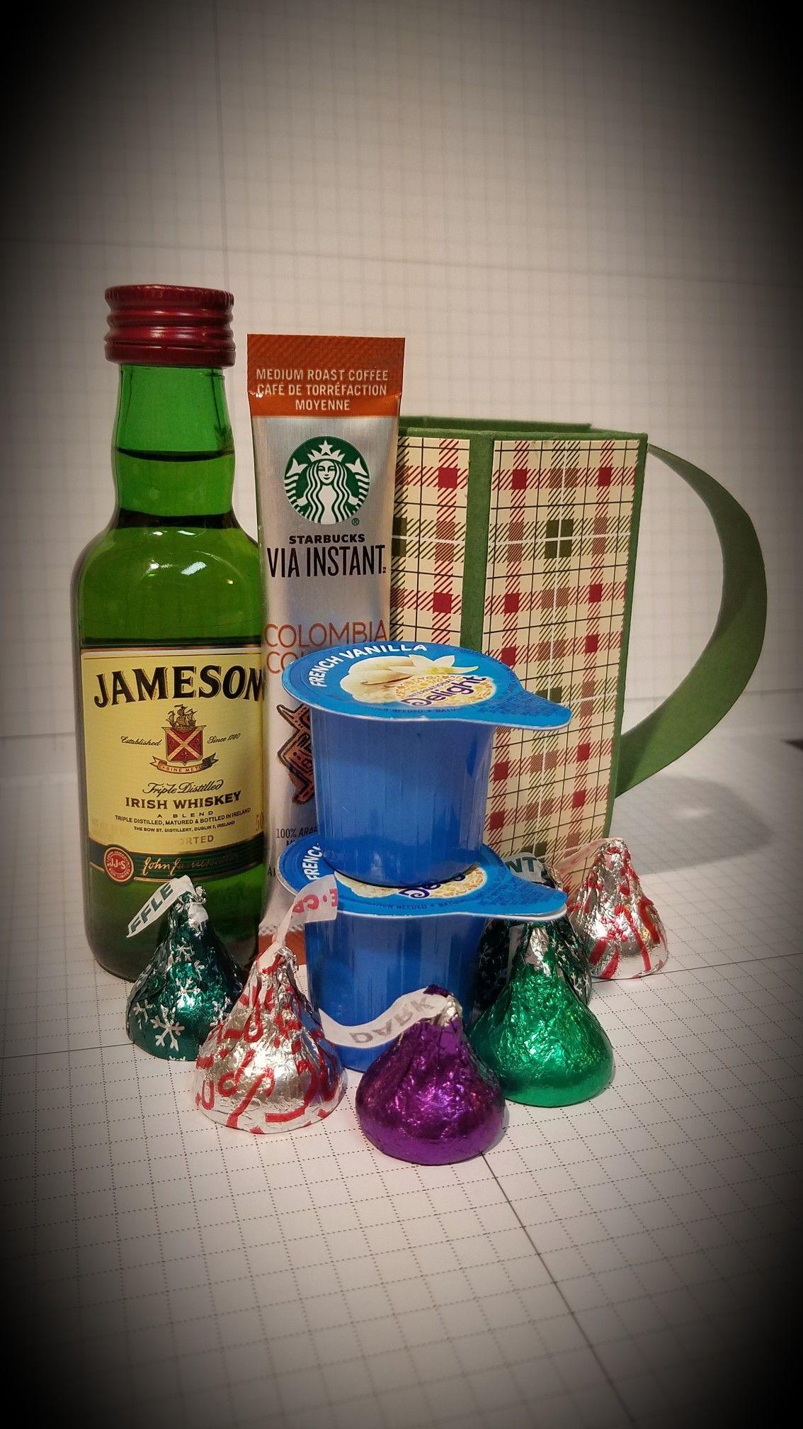 Irish coffee mini liquor with mug gift pack