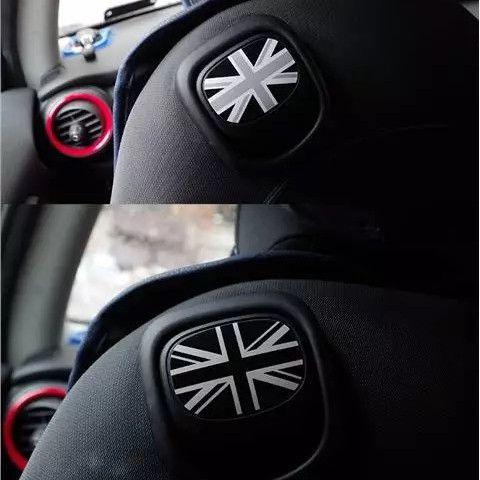 Mini Cooper Uk Jack Flag Union Seat Back Handle Sticker F56 Girly
