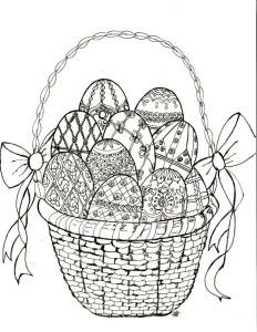 Free Downloable Easter Faberge Egg Coloring Page Bowdabra Blog