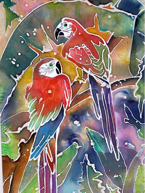 Wax batik painting to be demonstrated at University Branch | Fort Bend Southwest Star Newspaper