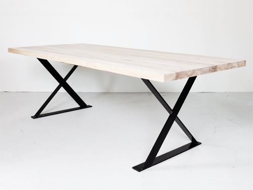 Hudson Rectangular Dining Table Metal Dining Table Dining Table