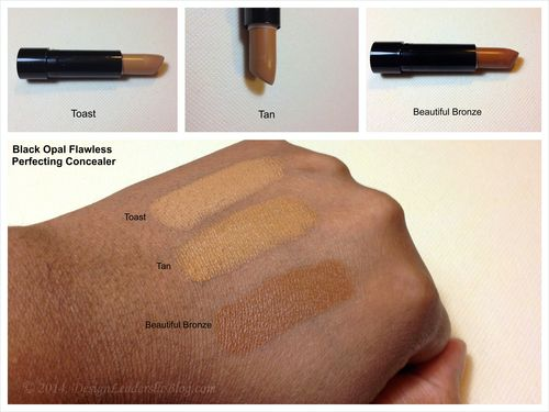 Black Opal Flawless Perfecting Concealer Review W Swatches