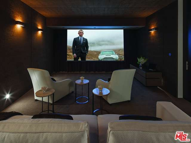 1201 Laurel Way Beverly Hills Ca 90210 6 Beds 10 Baths Home Theater Design Entertainment Room Design Entertainment Room