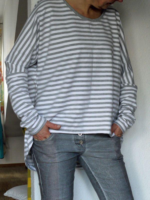 Photo of Ein Pulli wie ich ihn liebe. OVERSIZE Der Schnitt ist aus der Burda easy vom let