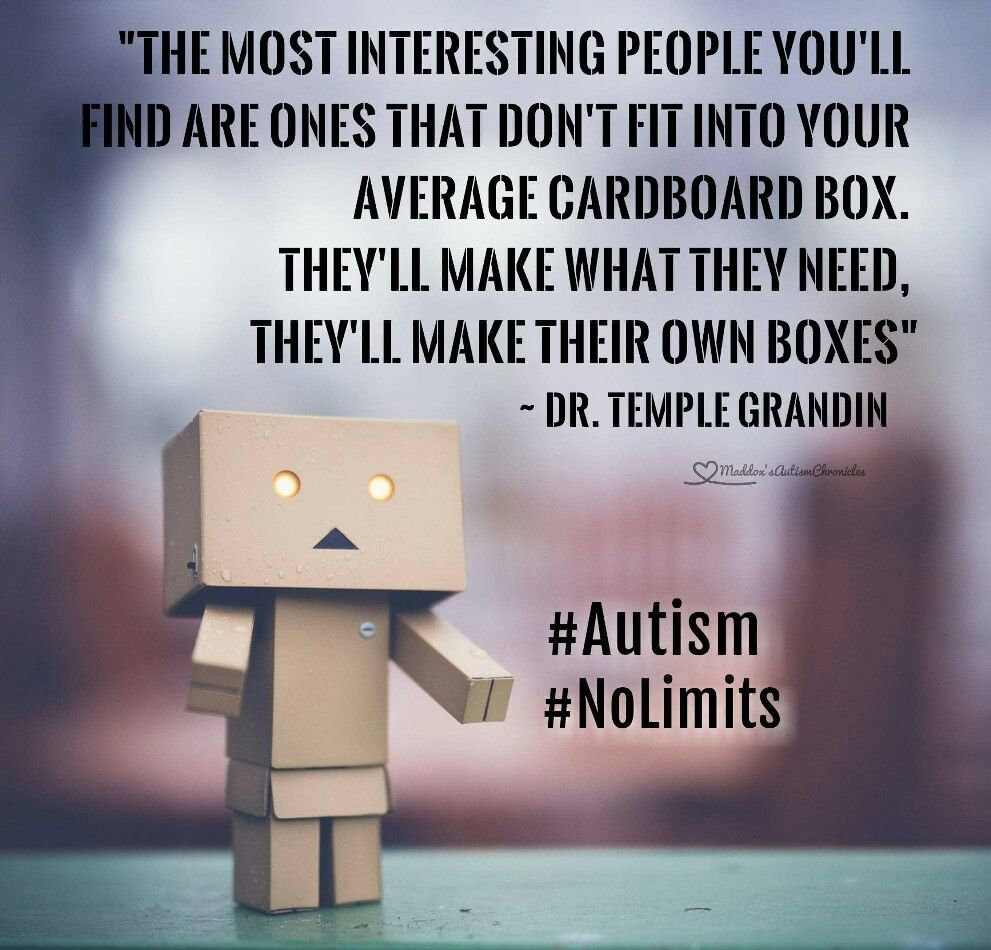 Temple Grandin quote | Autism quotes, Autism awareness facts ...