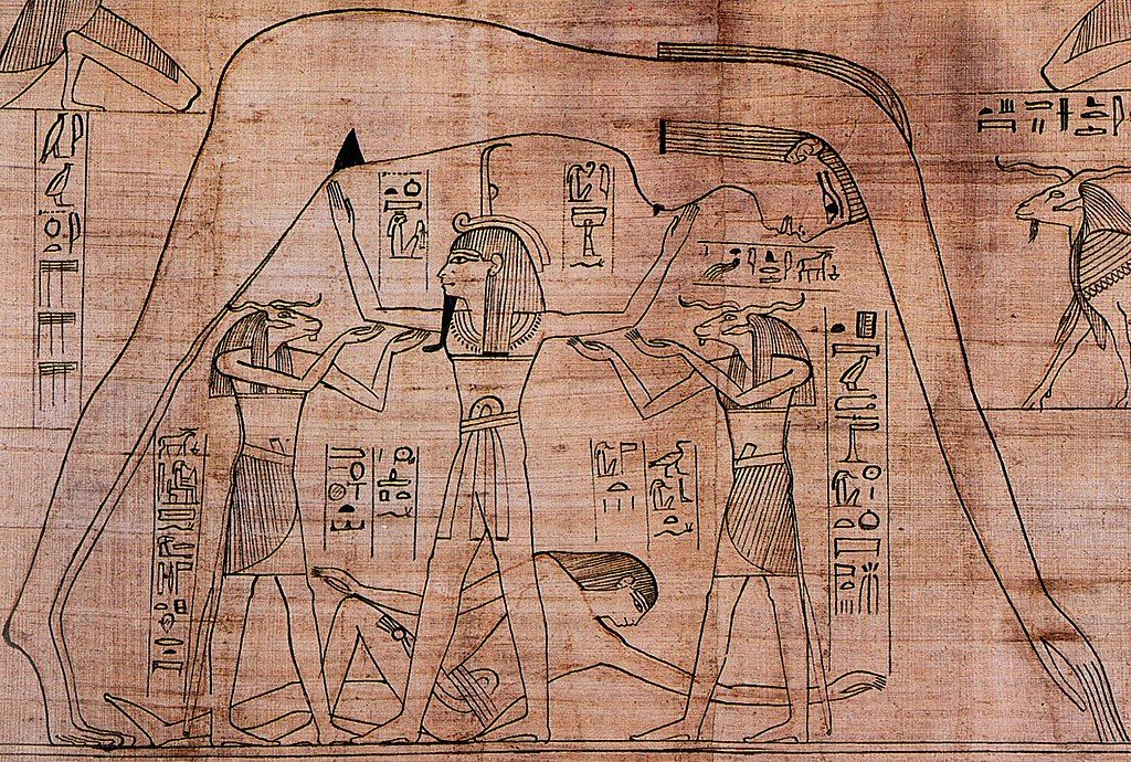 Pin By History On Ancient Egypt Nut Goddess Egypt Ancient Egypt