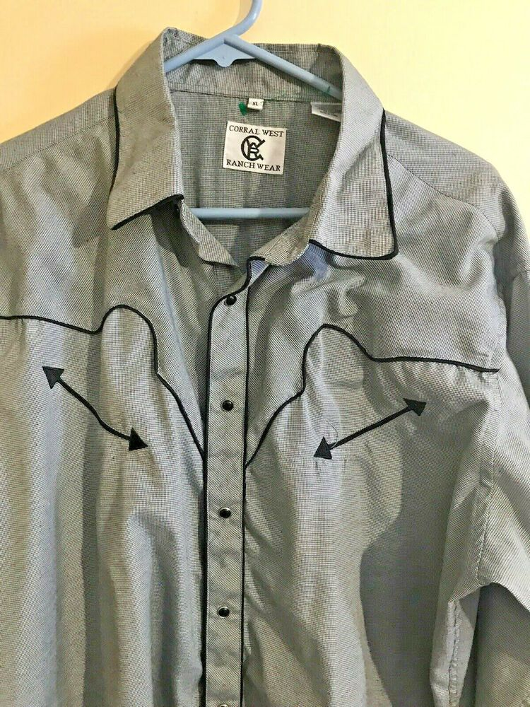 Corral West Ranch Wear Mens Extra Large