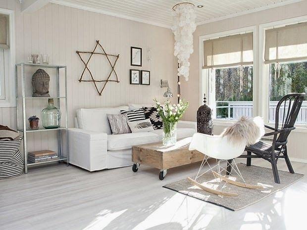 Como mezclar madera y blanco con encanto y estilo nórdico Estilo