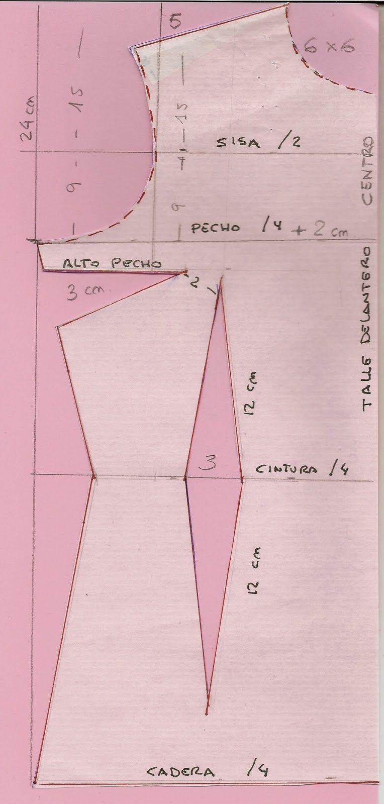 Patrón y costura : traje de flamenca.Tema 31 | Para coser ...