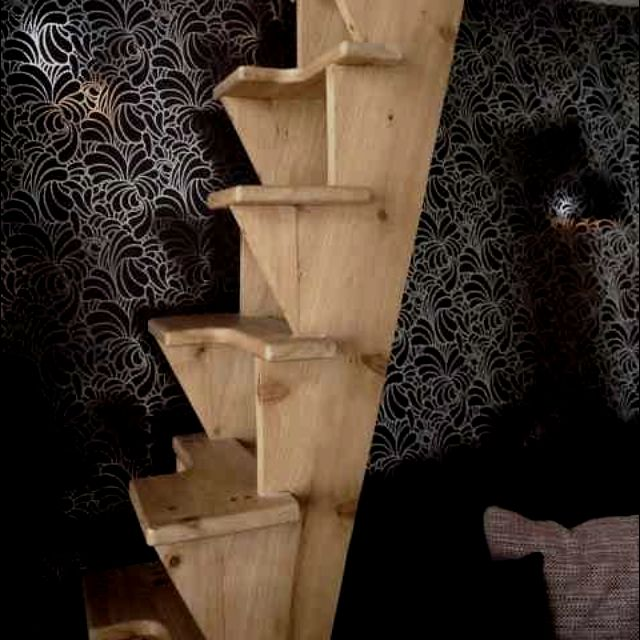 Loft Stairs For Small Spaces: Stair Makeover, Loft Stairs, Tiny