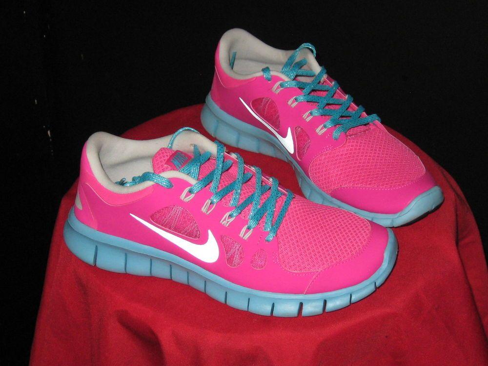 Girls Nike Free Run 5.0 (GS) Running Sneakers Sz 6 #Youth