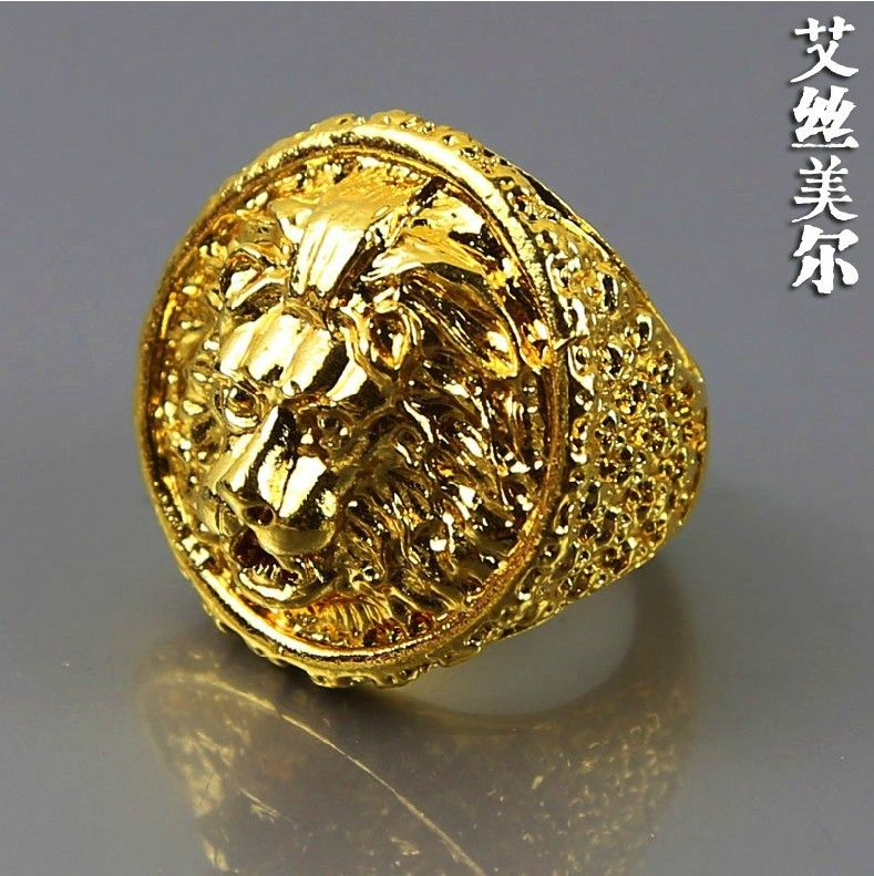 28f4afcc70cff6 gold lion ring men - Google Search
