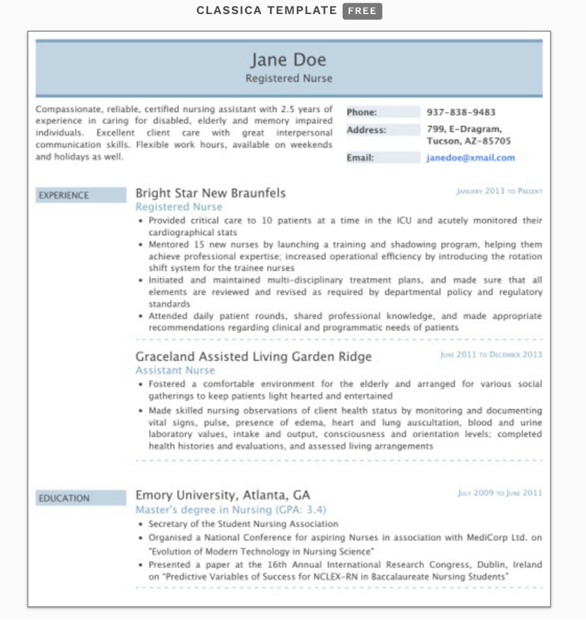 The 17 Best Resume Templates Best Resume Template Resume Templates Best Resume