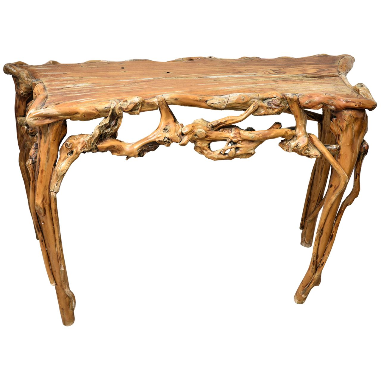 Driftwood console table driftwood console tables and consoles driftwood console table geotapseo Images