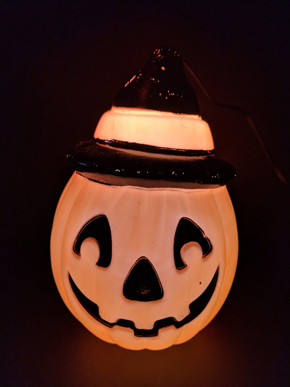 1995 empire 8 12 pumpkin halloween blow mold