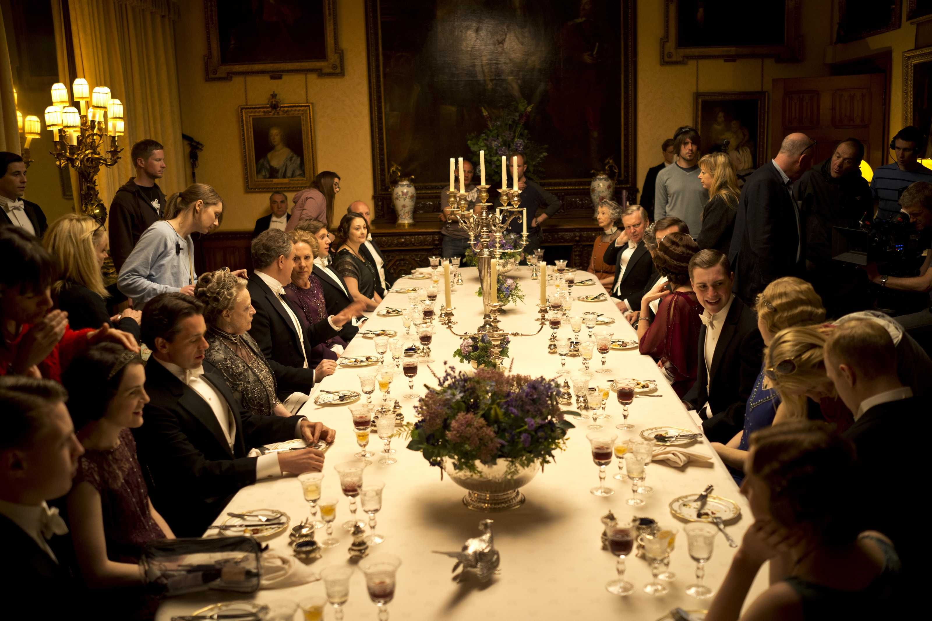 Heroes At Highclere Experience The Real Downton Abbey  Room Fair Highclere Castle Dining Room 2018