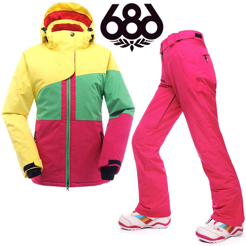 Manteau ski pas cher femme