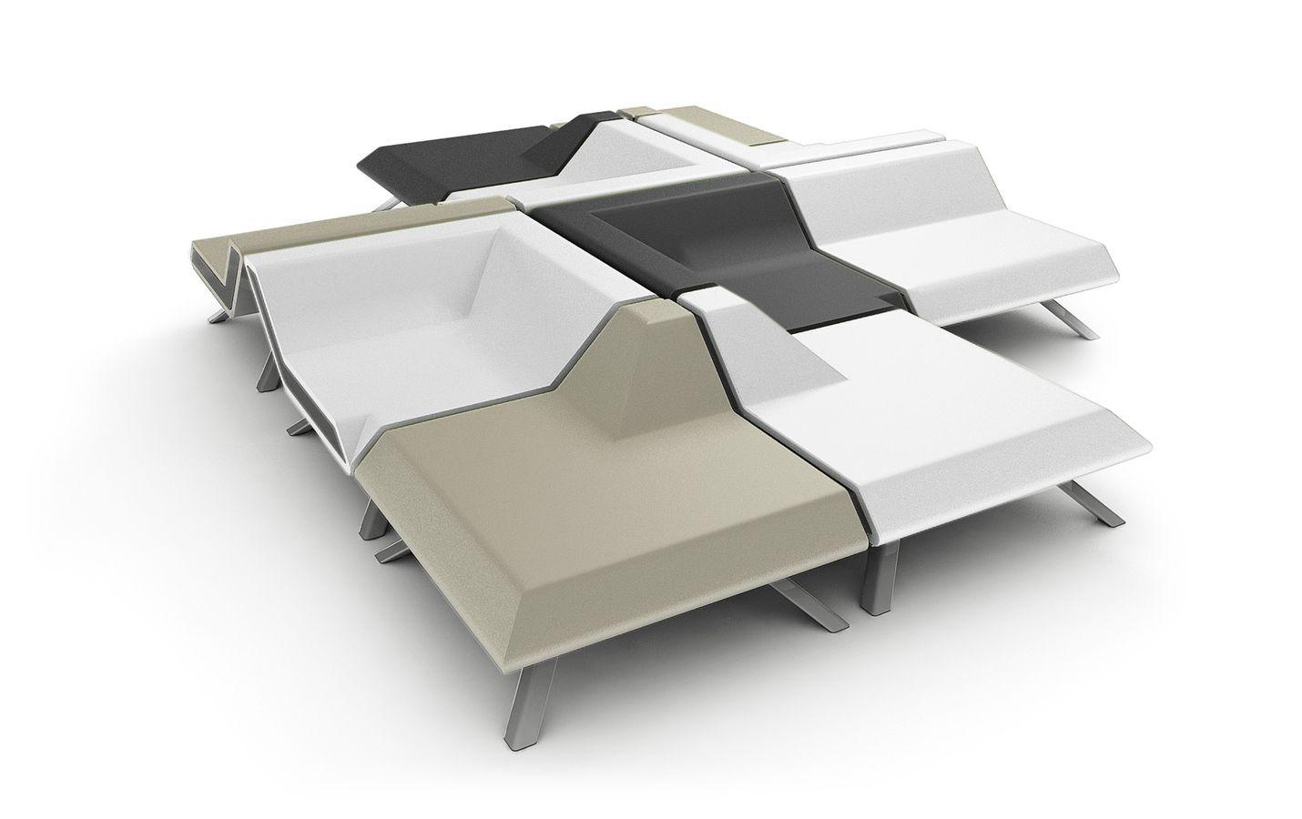 pas cher pour réduction adda6 b1ace fauteuil modulable contemporain F.02 by David Menting JSPR ...
