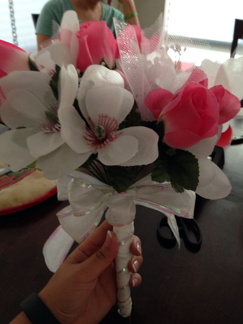 fake bouquet for pass the bouquet hot potato game hot potato game bridal