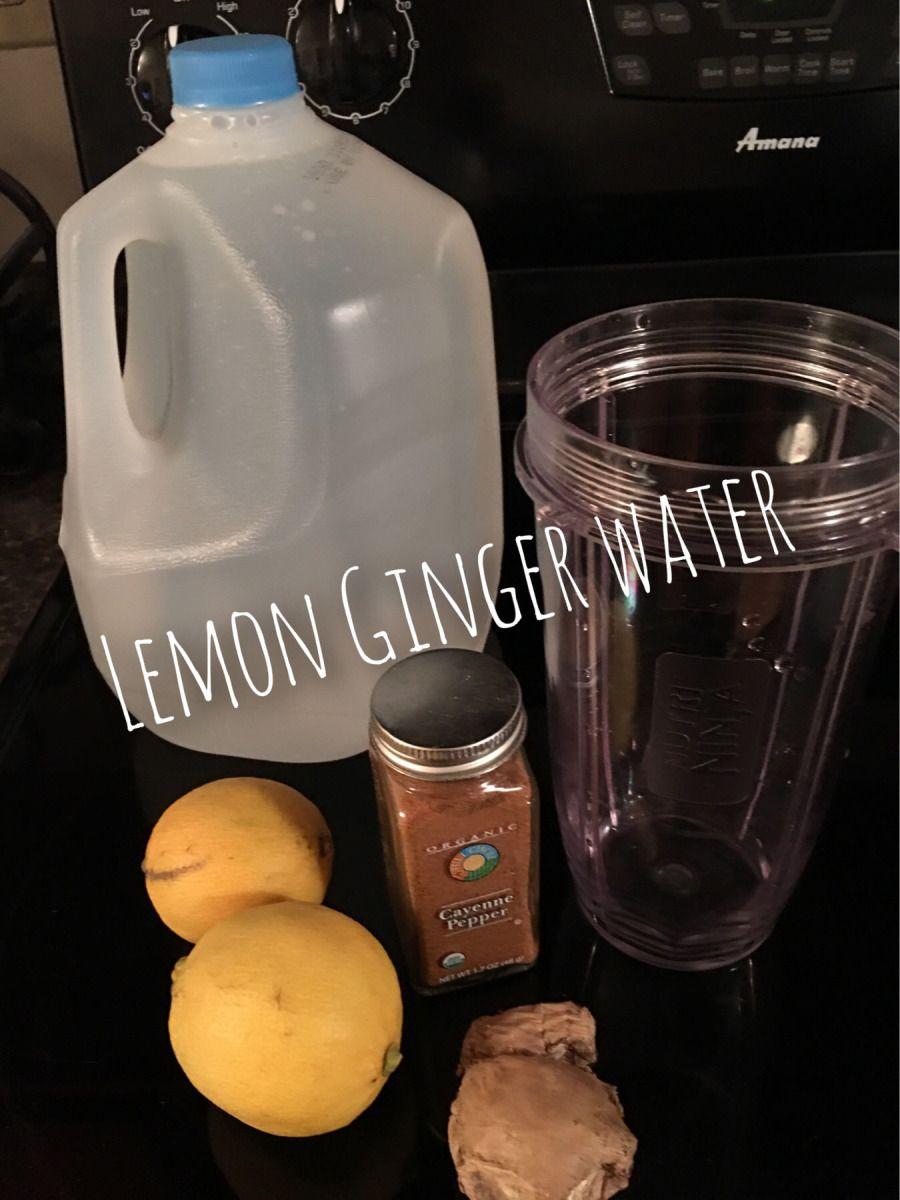 Lemon Ginger Water | New year | Pinterest | Lemon ginger water