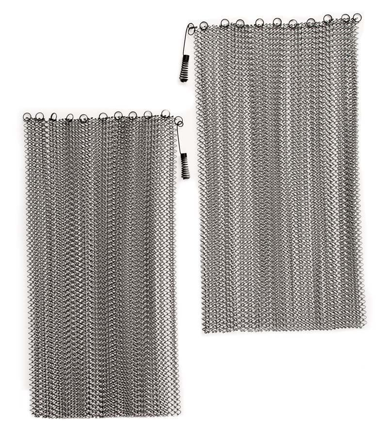 Fireplace Mesh Curtain Replacement Brickanew Fireplace Doors