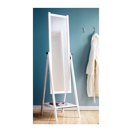 ISFJORDEN Specchio da terra, mordente bianco | Ikea, Specchio e Terra