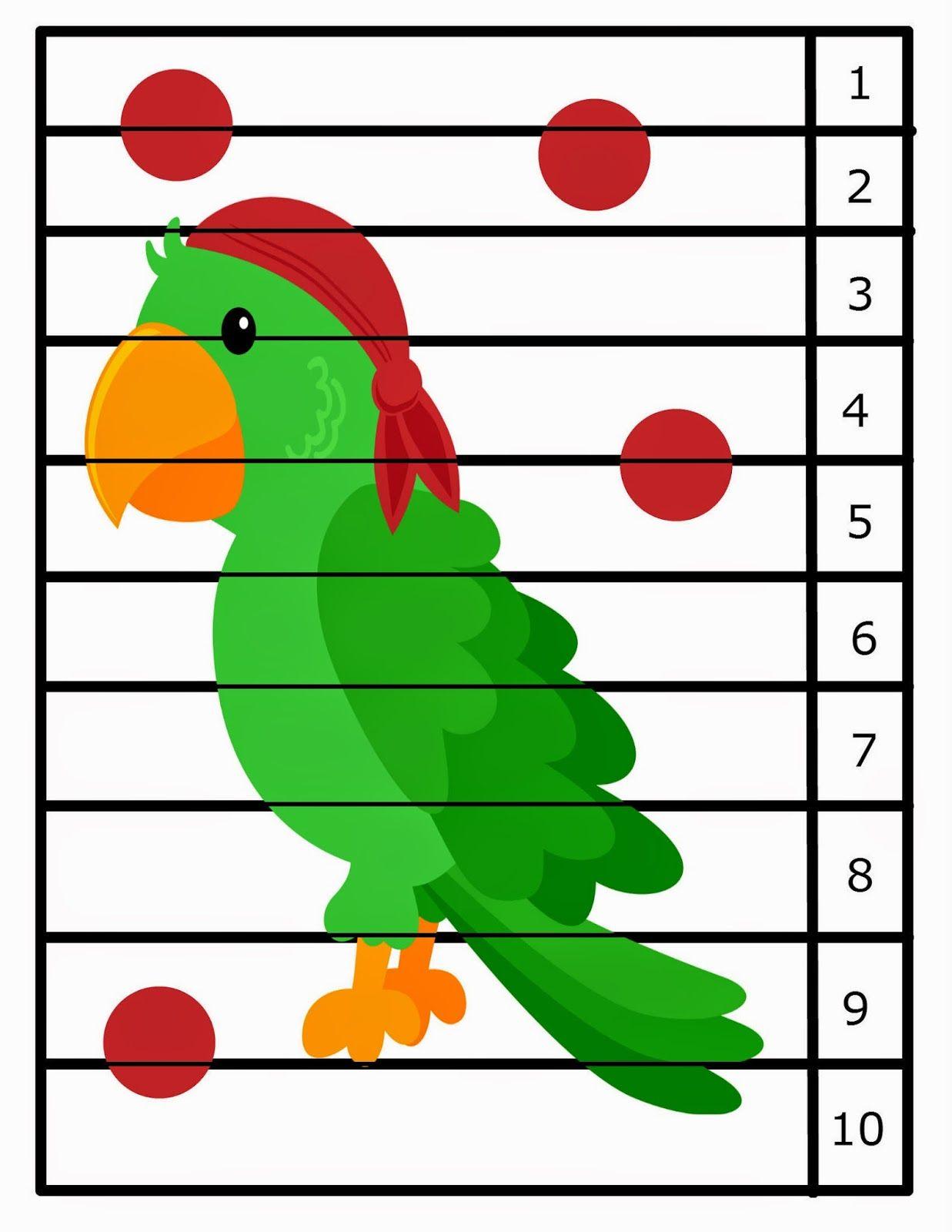 Pirate Preschool Packet & Weekly Updates!! | Preschool Powol Packets ...