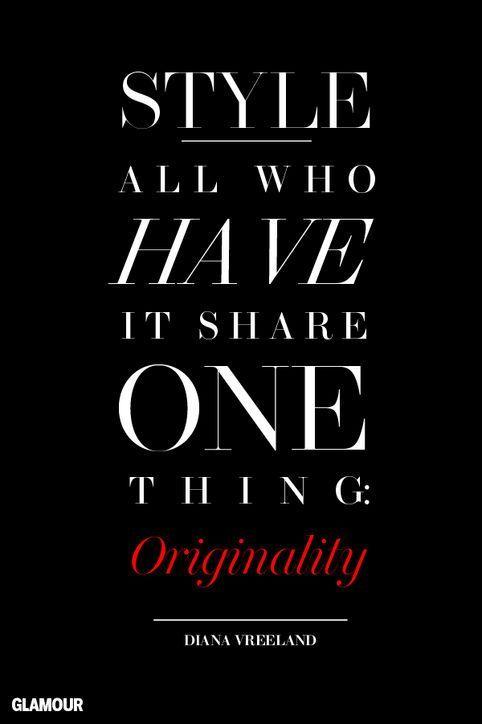 dianavreeland styleicon quotes