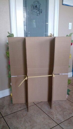 How To Make Cardboard Stand Up 2xl At Props Staging