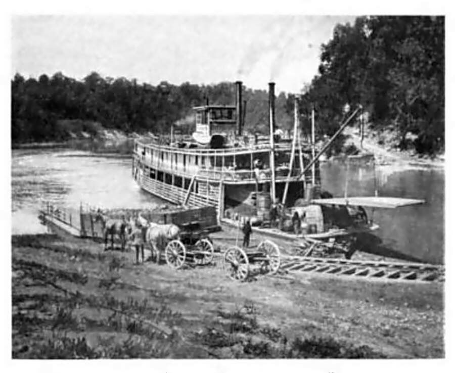 The Quot City Of Burnside Quot Steam Boats Paddle Boat Steamboats