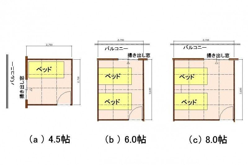 理想的な 寝室 の広さとその理由をプロが解説 間取り 洋室 新築一戸建て