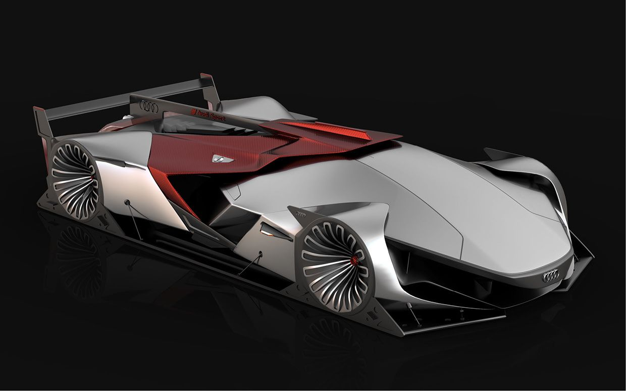Audi Future Le Mans Vision Car By Daniel Platek Cars Concept The - Audi future cars