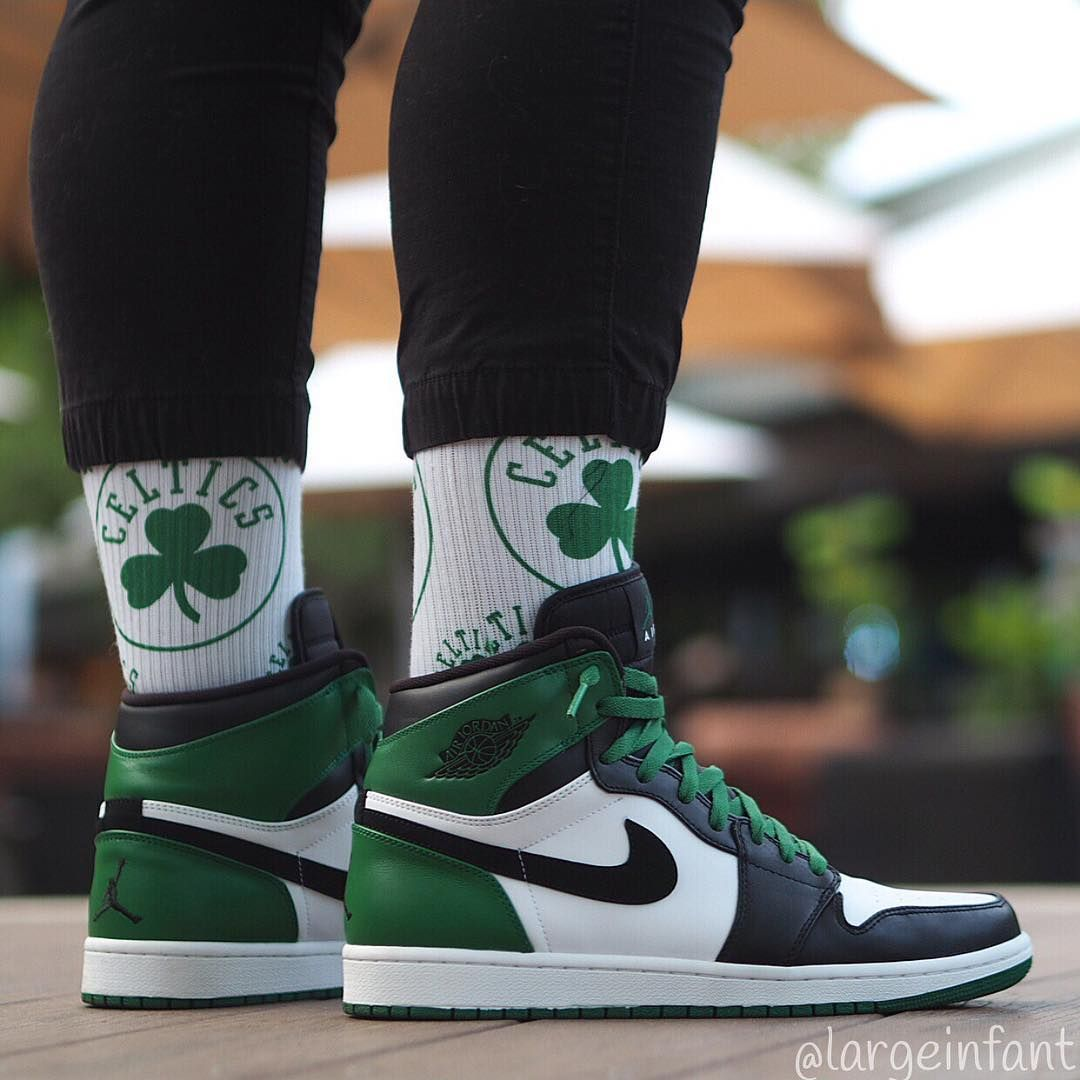 Air Jordan 1 Retro High Celtics With Images Air Jordan