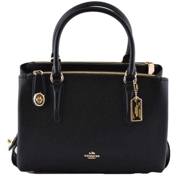 Coach Detachable Strap Tote (1.630 BRL) ❤ liked on Polyvore featuring bags ca05f93a75c3f