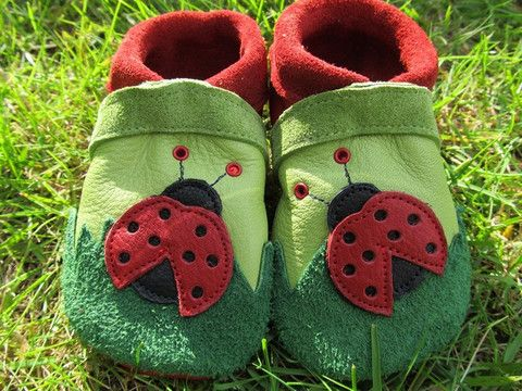 Little Ladybird kids soft leather shoes, I want some of these too!