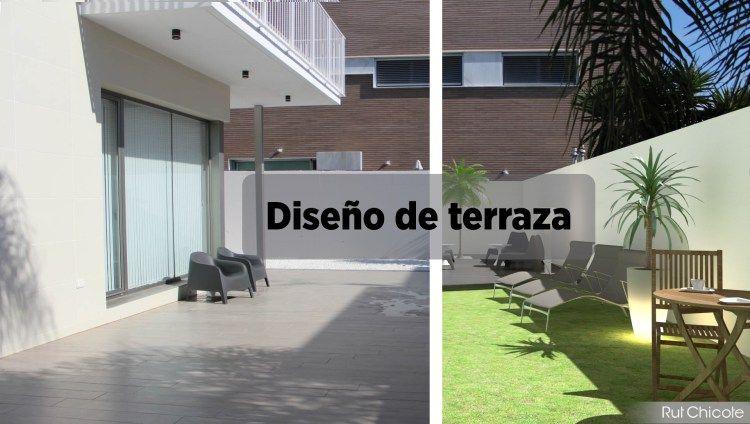 Diseño de terraza #diseño #exteriores #decoración #projects #3D   - diseo de exteriores
