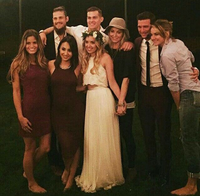 secret life reunion all together at megan park wedding