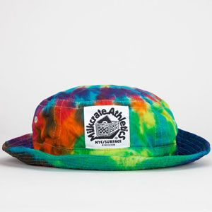 MILKCRATE ATHLETICS Tie Dye Mens Bucket Hat  tiedye  porkpie  bucket  hat   hippie 02c1bc71737