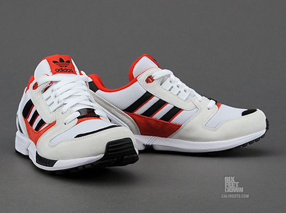 the latest 310a5 b9925 adidas Originals ZX 8000 - White - Red - Black - SneakerNews ...