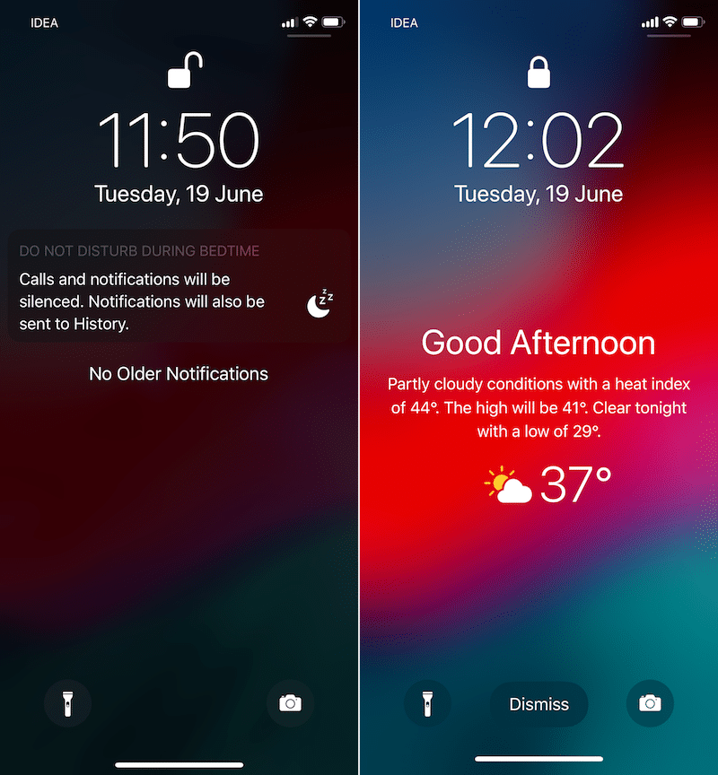 How To Add Weather Widget To Ios 12 Lock Screen Lockscreen Ios Iphone Lockscreen Tech Updates