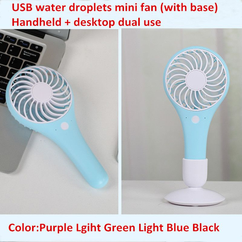 Oem Customized High Quality Usb Mini Fan Rechargeable Battery Student Portable Dual Use Fan Usb Mini Custom