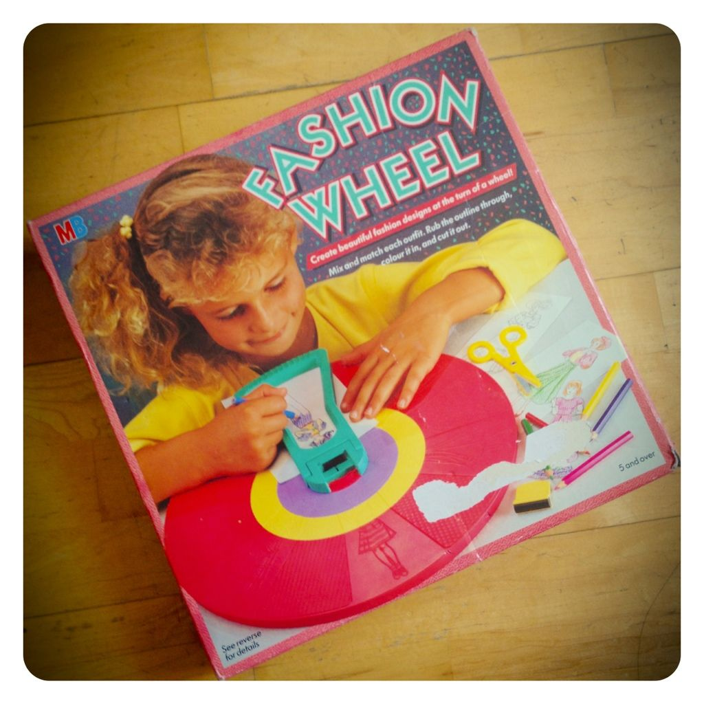 Image result for Fashion Wheel 80s