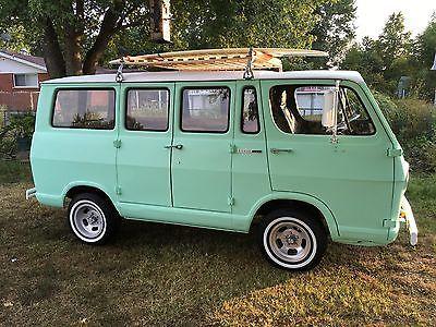 Ebay 1965 Chevrolet G20 Van Sportvan 1965 Chevrolet G10 Van G 10
